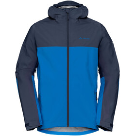VAUDE Moab Rain Jacket Men radiate blue
